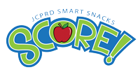 an image of the score logo, JCPRD smart snacks program
