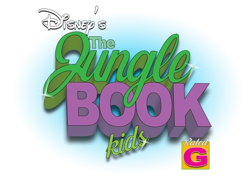 An image of Disney's The Jungle Book Kids logo