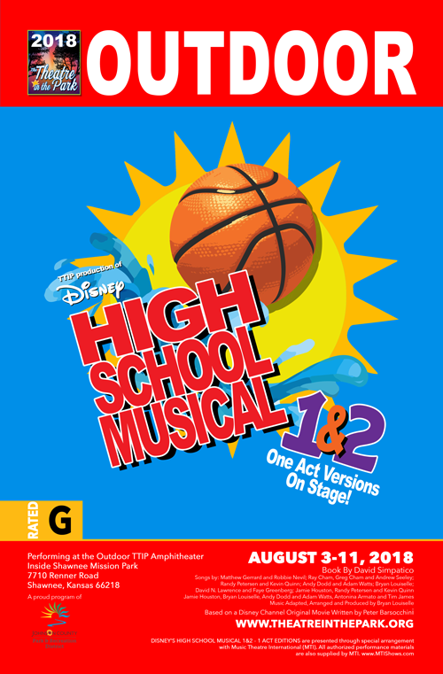 HIGH SCHOOL MUSICAL 1&2 show poster