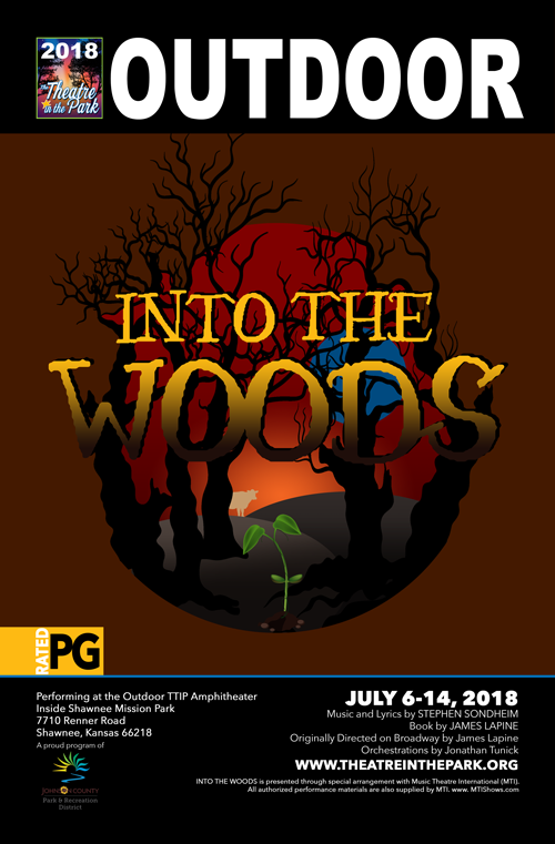 INTO THE WOODS show poster