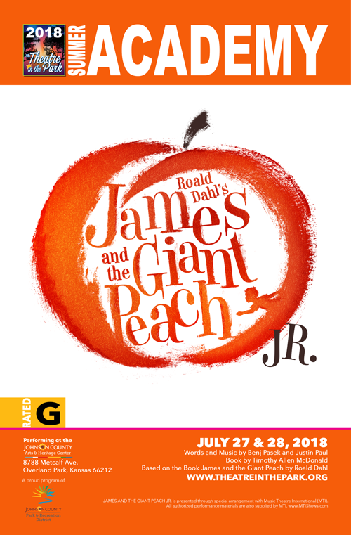 James and the Giant Peach Jr. poster