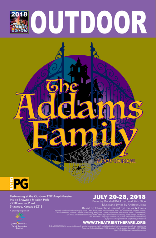 The Addam's Family show poster
