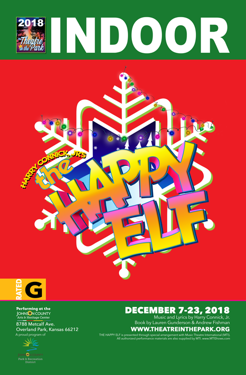 The Happy Elf show poster