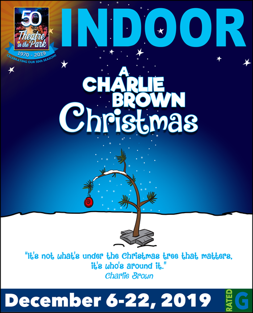 Charlie Brown Christmas Show Poster