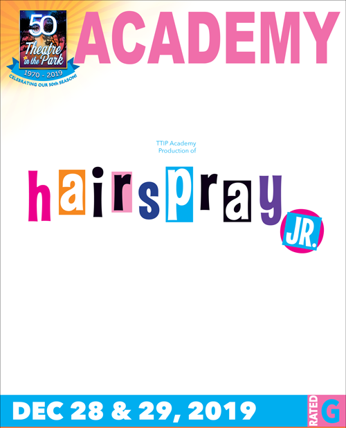 Hairspray academy production poster