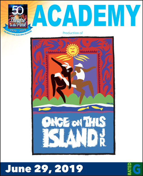 Once on theis Island Show logo