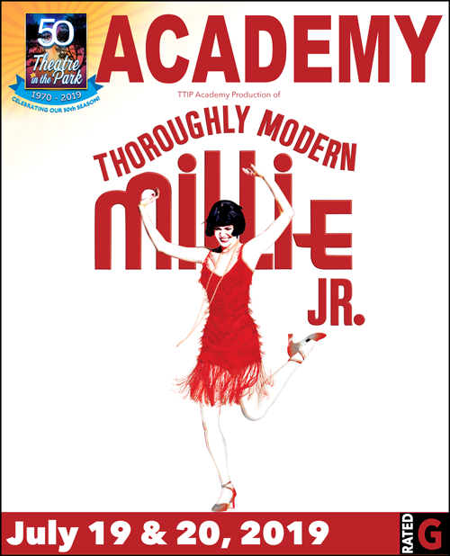 Throughly Modern Millie show poster