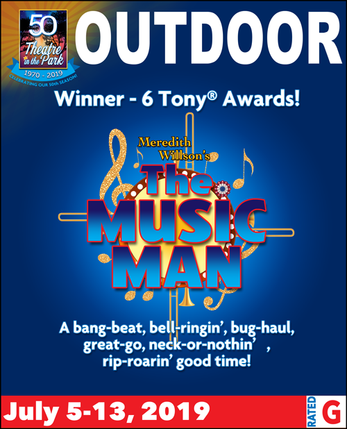 Music Man show poster