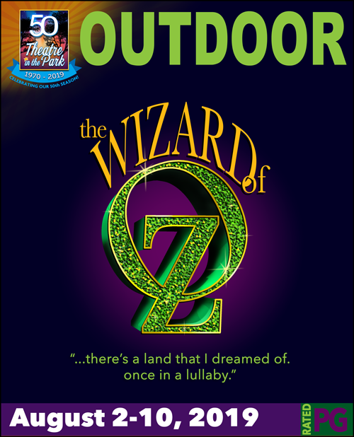 The Wizard of Oz show logo