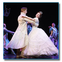 Photo of Kaitlyn Davidson as Cinderella on Broadway