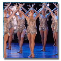 Mindy Moeller in Radio City Christmas Spectacular as a Rockette