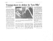 Olathe News - Article on Les Miserables - School Edition<br /> &quot;Young Stars Shine...&quot;<br />