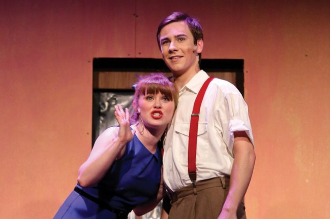 Alyssa Cooper and Eric Geil - <em>Urinetown </em>&bull; 2012