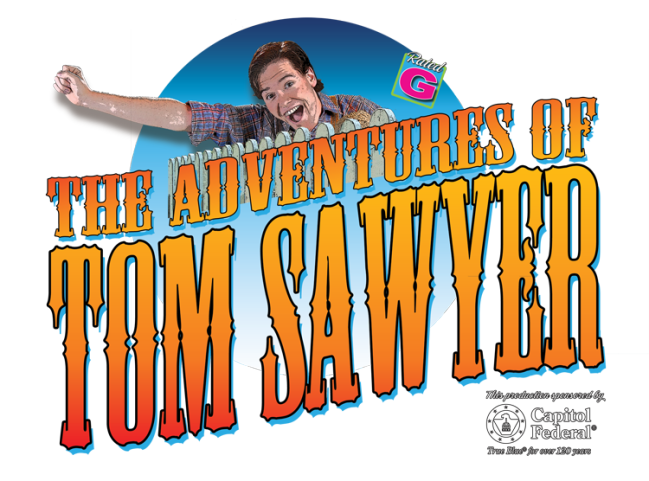 THE ADVENTURES OF TOM SAWYER - Title treatment
